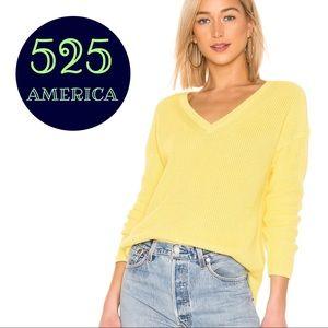 Sunny Yellow v neck